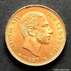 Monedas de España: MONEDA DE 25 PESETAS DE ORO DE 1881 18*81- ALFONSO XII. Lote 154646026