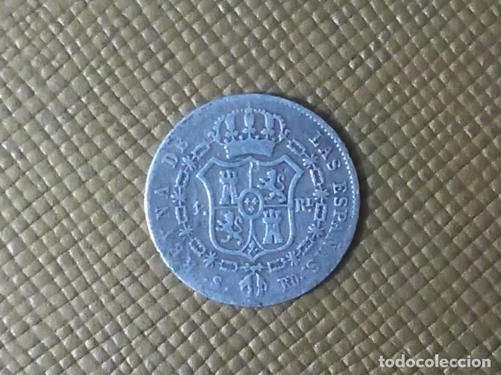 MONEDA DE PLATA ESPAÑA 1850 (Numismática - España Modernas y Contemporáneas - De Isabel II (1.834) a Alfonso XIII (1.931))