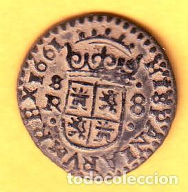 Monedas de España: FELIPE IV 8 MARAVEDIES CECA DE SEVILLA 1661 - Foto 2 - 155270674