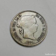 Monedas de España: 20 REALES ISABEL II, AÑO 1864, NO ES DE PLATA.. Lote 155909418