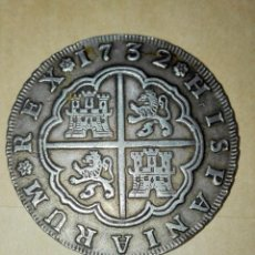 Monedas de España: EXCEPCIONAL, 8 REALES FELIPE V, SEVILLA,1732 ENSAYADORES P.A. SIRVIO COMO JOYA, AUN ASI INMEJORABLE. Lote 155977094