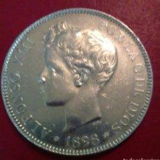 Monedas de España: 5 PESETAS DE PLATA ALFONSO XIII, 1898*18*98 SG-V !! EBC+. SC- !!. Lote 155989924
