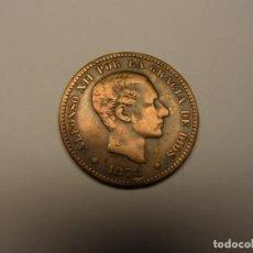 Monedas de España: MONEDA 5 CÉNTIMOS ALFONSO XII, AÑO 1878.. Lote 156014674