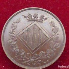 Monedas de España: MEDALLA PRIMER CONGRESO CATALANISTA BARCELONA 1880. Lote 156562398