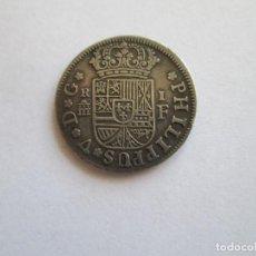 Monedas de España: FELIPE V * 1 REAL 1728 SEGOVIA F * PLATA. Lote 156683014