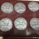 Monedas de España: 6 MONEDAS 2 PESETAS AÑOS 1869 Y 1870. Lote 156777814