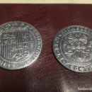 Monedas de España: 2 MONEDAS REALES DE LOS REYES. Lote 156778638