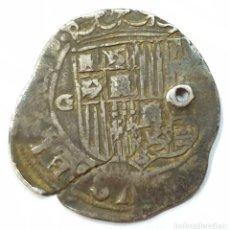 Monedas de España: MONEDA EN PLATA DE LOS REYES CATÓLICOS FERNADO E ISABEL. REAL. SIGLO XVI. Lote 156818622