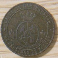 Monedas de España: 2 1/2 CENTIMOS DE ESCUDO 1868 JUBIA OM. Lote 156864741