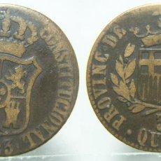 Monedas de España: MONEDA DE FERNANDO VII 3 QUARTOS BARCELONA 1823. Lote 157885966