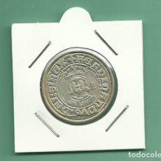 Monedas de España: REPLICA DE LA FNMT. 1/2 REAL FERNANDO II DE ARAGÓN. ND. Lote 201804631