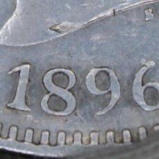 Monedas de España: ESPAÑA 5 PESETAS ALFONSO XIII 1896 ESTRELLAS 18-96 PGV PLATA MBC+ R 3140. Lote 158485238