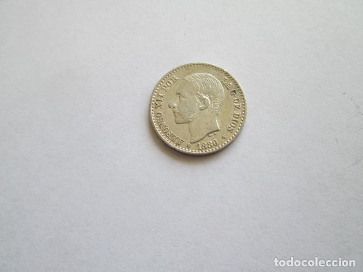 ALFONSO XII * 50 CENTIMOS 1880*80 MS M * PLATA (Numismática - España Modernas y Contemporáneas - De Isabel II (1.834) a Alfonso XIII (1.931))