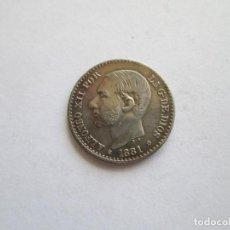 Monedas de España: ALFONSO XII * 50 CENTIMOS 1881*81 MS M * PLATA. Lote 158496170