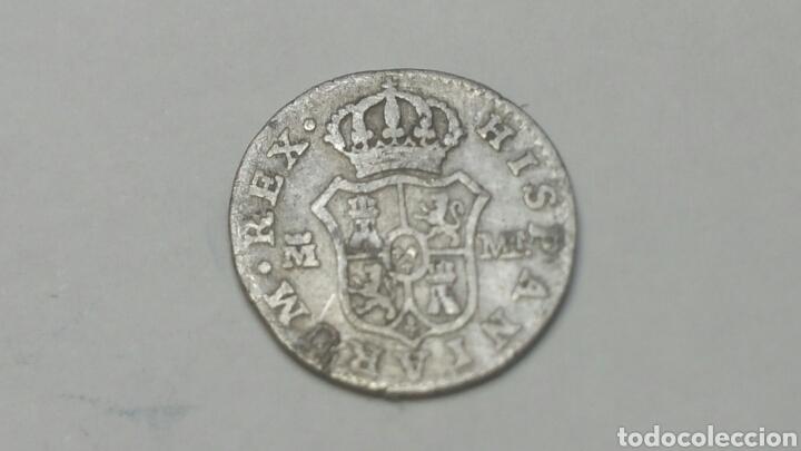 Medio real de carlos cuarto en plata de 1798 - Vendido en Subasta ...