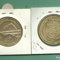 Monedas de España: REPLICA DE LA FNMT. 100 REALES 1855. ISABEL II. Lote 194632623