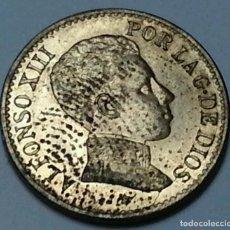 Monedas de España: 1 CÉNTIMO SL.V -6- AÑO 1906 ALFONSO XIII - BRILLO ORIGINAL - 4MS53U. Lote 208129833