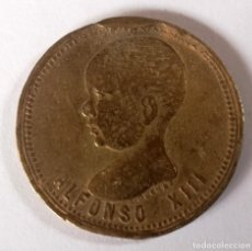 Monedas de España: MEDALLA ALFONSO XIII PRIMER FESTIVAL INFANTIL MADRID 1888. Lote 158965398