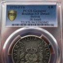 Monedas de España: ¡¡ MUY RARA !! 4 REALES CARLOS III 1770 POTOSI J.R CERTIFICADA POR PCGS. ALTO VALOR!!!. Lote 159374498