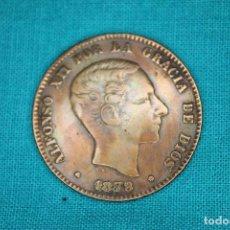 Monedas de España: ESPAÑA ALFONSO XII 1879 10 CENTIMOS MBC+ 3208. Lote 159699542
