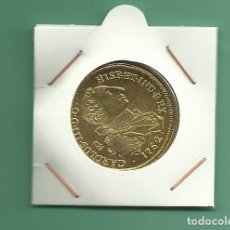 Monedas de España: REPLICA DE LA FNMT. 8 ESCUDOS 1762. CARLOS III. LIMA. Lote 180895255