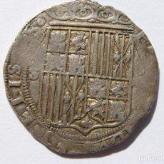 Monnaies d'Espagne: REYES CATOLICOS. 4 REALES. SEVILLA.. Lote 159621570
