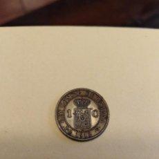 Monedas de España: MONEDA UN 1 CÉNTIMO DE COBRE DE ALFONSO XIII 1912 * 2 SIN CIRCULAR - /EBC. Lote 160256386