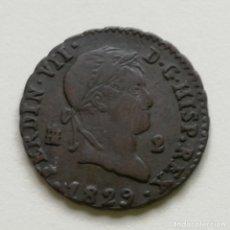 Monedas de España: ## 2 MARAVEDIES 1829 SEGOVIA - FERNANDO VII ##. Lote 160555310