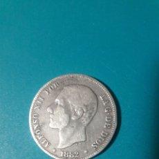 Monedas de España: MONEDA PLATA 2 PESETAS 1882. ALFONSO XII.. Lote 160635126