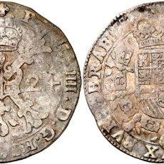 Monedas de España: 1 PATAGON FELIPE IV 1624 BRUSELAS. Lote 161291454