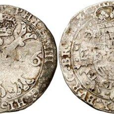 Monedas de España: 1 PATAGON FELIPE IV 1636 BRUSELAS. Lote 161291586