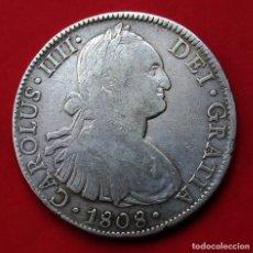 Monedas de España: CARLOS IV. MONEDA DE 8 REALES. 1808. MÉJICO TH. PLATA.. Lote 161366750