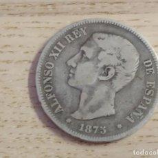Monedas de España: 5 PESETAS. ALFONSO XII. 1875. PLATA .900. Lote 161483246