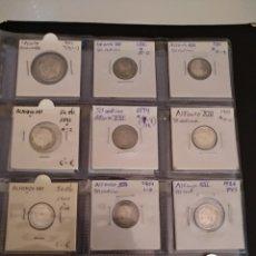 Monedas de España: LOTE MONEDAS PLATA ESPAÑA. Lote 162386349