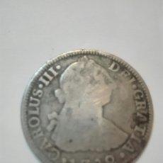Monedas de España: MONEDA DE CARLOS TERCERO 1782 DOS REALES POTOSÍ FF MEX. Lote 162637698