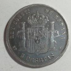 Monnaies d'Espagne: MONEDA 5 PESETAS PLATA. Lote 162687310