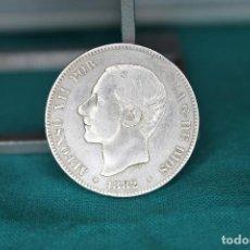 Monedas de España: ESPAÑA ALFONSO XII 2 PESETAS, 1882*18-82 VARIANTE 2 SOBRE 1 R 3143. Lote 162918118