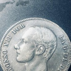 Monedas de España: 2 PESETAS DE ALFONSO XII DE 1884 EN MBC. Lote 162958790