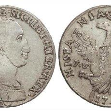 Monedas de España: 12 TARI FERNANDO III DE DOS SICILIAS 1799 PALERMO J.V.I.. Lote 163079826