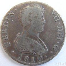 Monedas de España: FERNANDO VII. MUY RARO 4 REALES MODULO GRANDE. MEDIO DURO. VALENCIA. SG. 1810. Lote 163578726