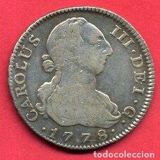 Monedas de España: MONEDA PLATA , CARLOS III , 4 REALES 1778 , MADRID , MBC , ORIGINAL , M1259. Lote 164168502