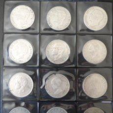 Monedas de España - 12 MONEDAS 5 PESETAS DE 1870 a 1898 GOBIERNO PROVISIONAL-AMADEO I- ALFONSO XII Y ALFONSO XIII - 164811830