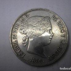 Monedas de España: 20 REALES DE PLATA DE 1856. CECA DE MADRID. REINA ISABEL II. Lote 165315134