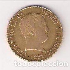 Monedas de España: MONEDA DE 80 REALES DE FERNANDO VII DE 1822 DE MADRID. ENSAYADOR SR. ORO. MBC. (013). Lote 165645590