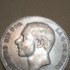 Monedas de España: MONEDA DE PLATA. 5 PESETAS. ALFONSO XII . ESPAÑA 1882.. Lote 165864546