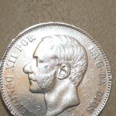 Monedas de España: ALFONSO XII. 5 PESETAS. MADRID MSM. 1885 *18-87 PLATA . Lote 165866310