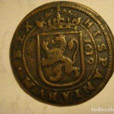 Monedas de España: ESPAÑA MONEDA - FELIPE III - AÑO 1619 SEGOVIA - PIEZA UNICA . NO CATALOGADA - BEX EN VEZ DE REX. Lote 165909178