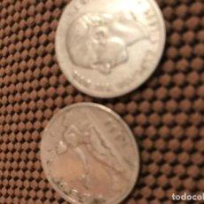 Monedas de España: 2 MONEDAS DE 2 PESETAS PLATA ALFONSO XII Y GOBIERNO PROVISIONAL . Lote 165999218