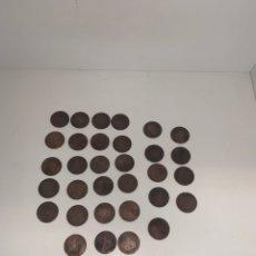 Monedas de España: LOTE DE 40 MONEDAS ANTIGUAS. Lote 166089153