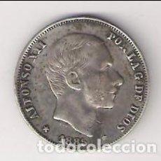 Monedas de España: MONEDA DE 20 CENTAVOS DE PESO DE ALFONSO XII DE 1885 CECA MANILA (FILIPINAS). PLATA. MBC. (AL19). Lote 166177534